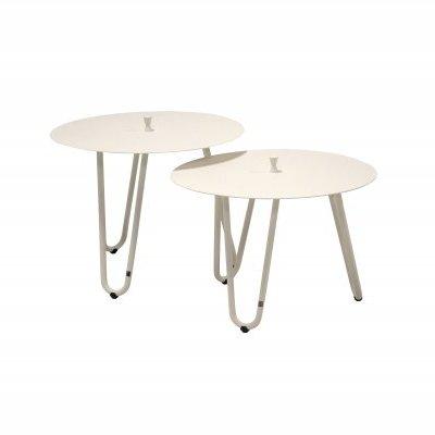 4 Seasons Cool Side Table W/Handle 60 Ø H 45 - White