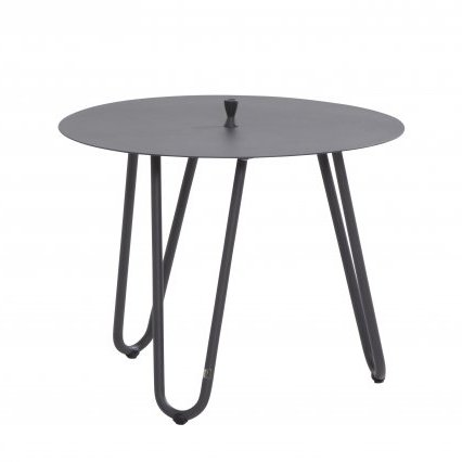 4 Seasons Cool Side Table W/Handle 60 Ø H 45 - Anthracite