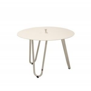 4 Seasons Cool Side Table W/Handle 60 Ø H 40 - White