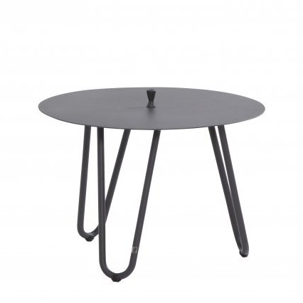 4 Seasons Cool Side Table W/Handle 60 Ø H 40 - Anthracite