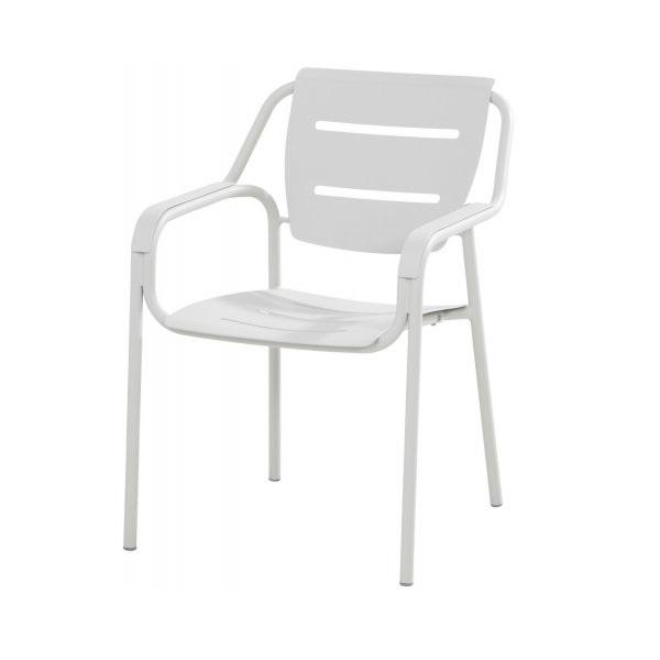 4 Seasons Eco Cadeira de Empilhar em Aluminio - Seashell