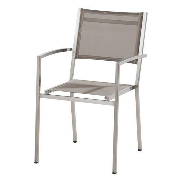4 Seasons Plaza Stackable chair - Mocca