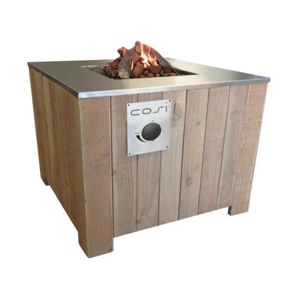 Gimeg CosiCube 70x70 - White Wash