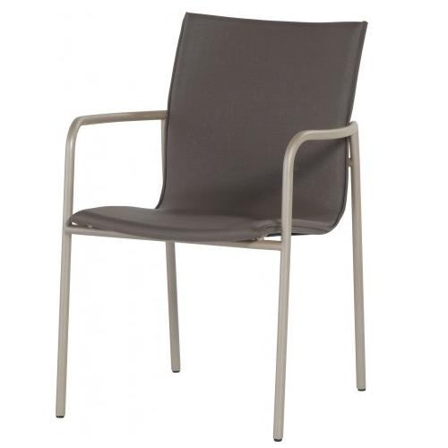 4 Seasons Atrim Stackable Chair - Taupe