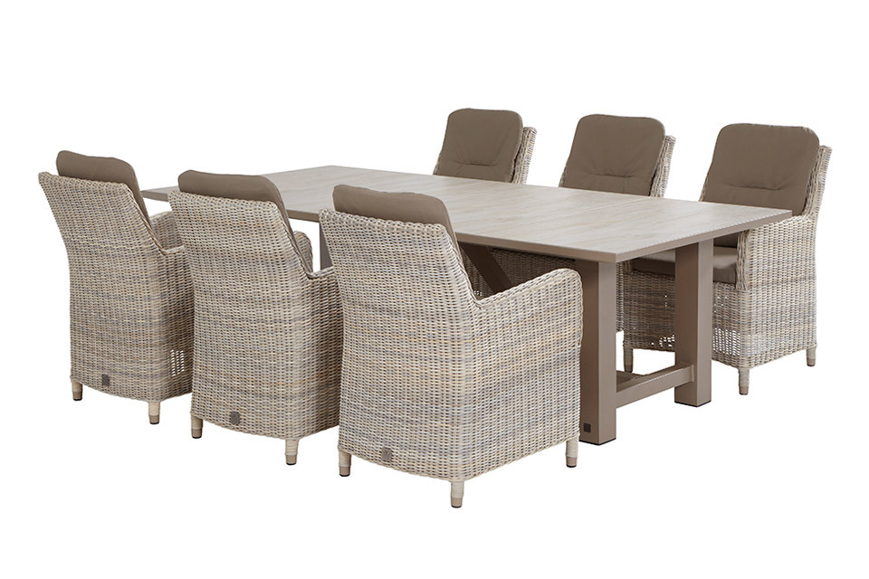 4 Seasons Diva Mesa 240x110 - Ceramic Taupe