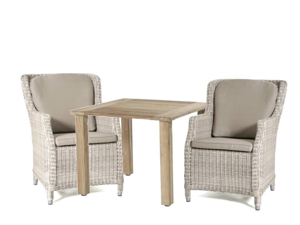 4 Seasons Casa Table Recycled Teak 90x90cm