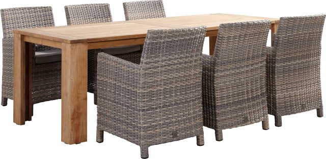 4 Seasons Casa Table Recycled Teak 180x90