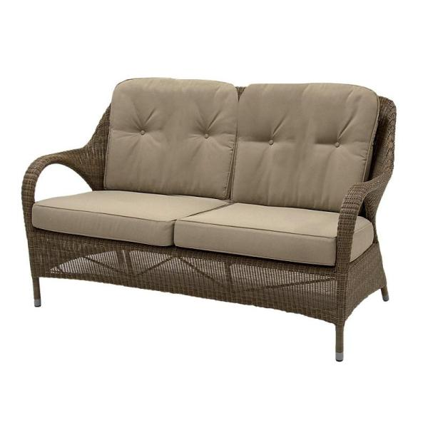 4 Seasons Sussex Sofa 2,5 seats w/ 4 cushions - Poly. Taupe