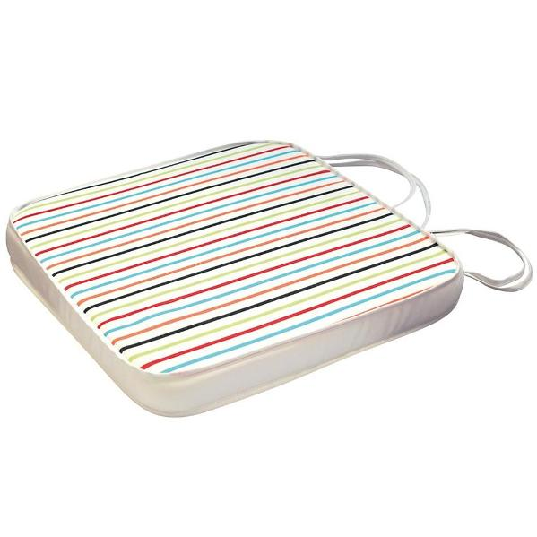 Ezpeleta Seat Pad - White striped