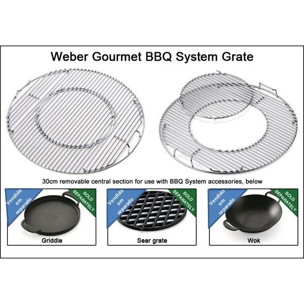 Weber Charcoal BBQ Performer GBS 57cm - Black