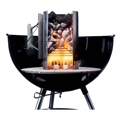 Weber Kit Chaminé de Acender- 2Kg de Carvão