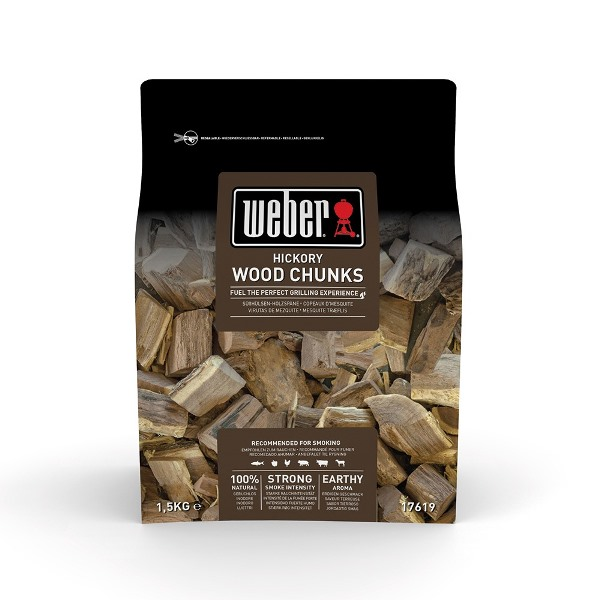 Weber Wood Chunks for Smoking - Hickory