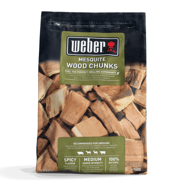Weber Wood Chunks for Smoking - Mesquite