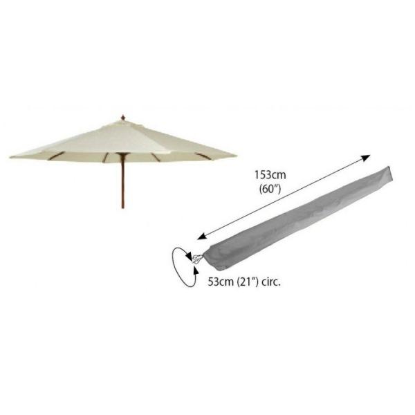 Bosmere Parasol Cover 53øX153cm - Grey