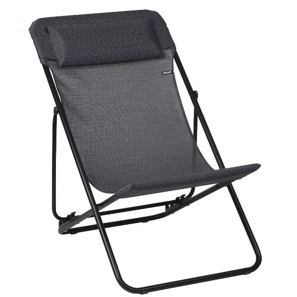 Lafuma Transluxe XL Cadeira de Fechar baixa - Obsidian