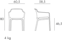 Jofix Net Chair - White