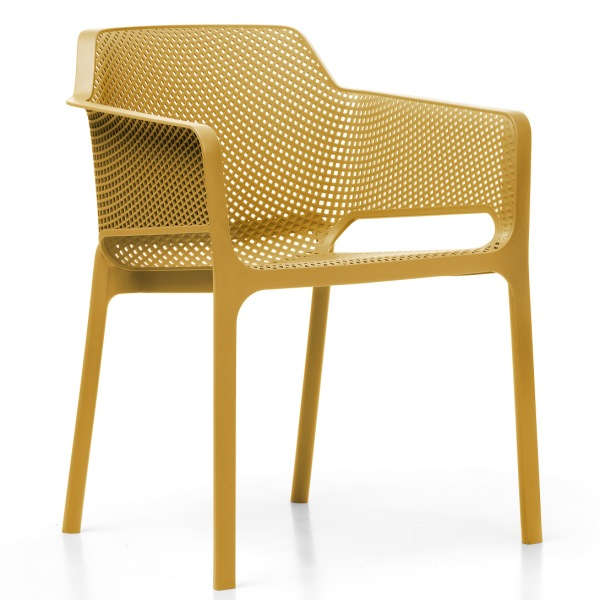 Jofix Net Chair - Senape