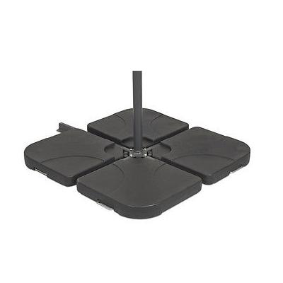 Ezpeleta 100Kg Cement Base (Set 4x Blocks) - Black