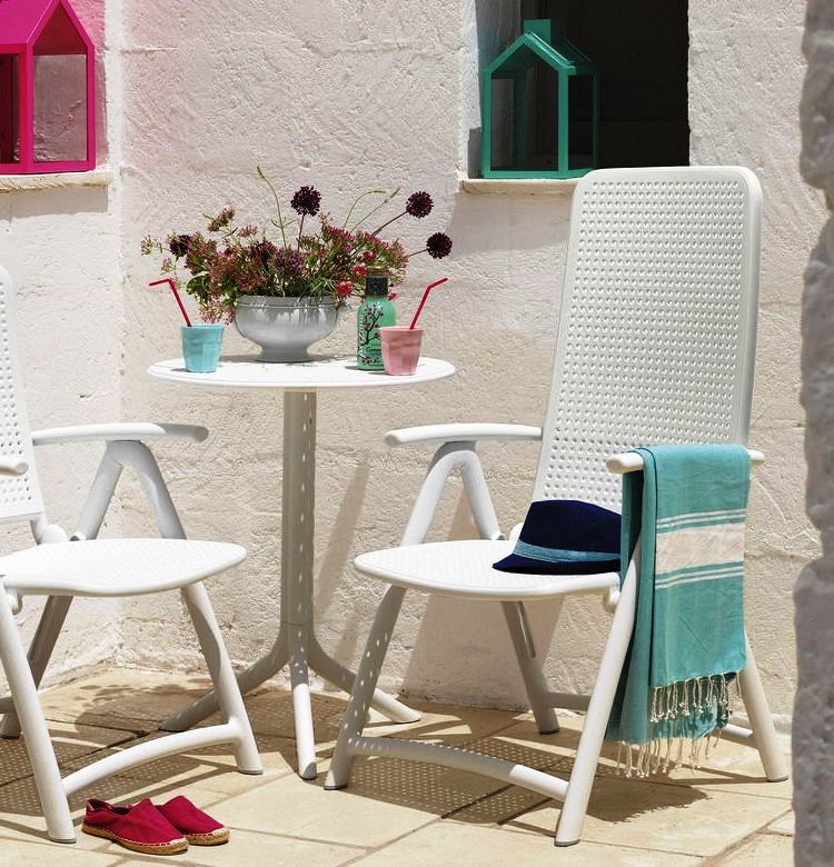 Jofix Darsena Relaxer Chair - Celeste