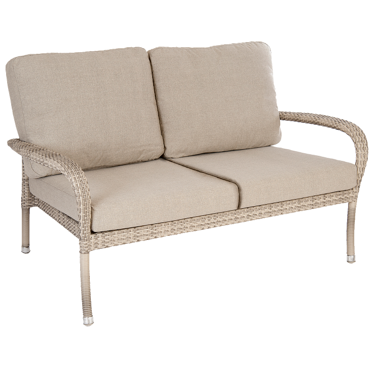 AL.Rose Ocean 2 Seater Sofa - Pearl