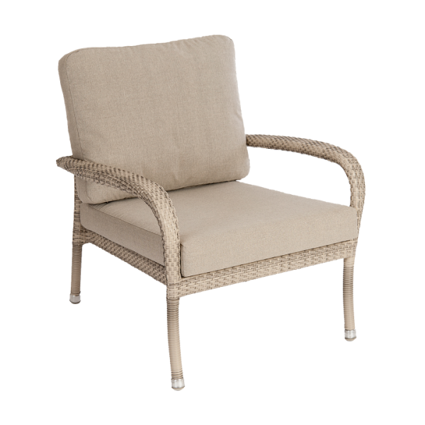 AL.Rose Ocean Loung Chair - Pearl