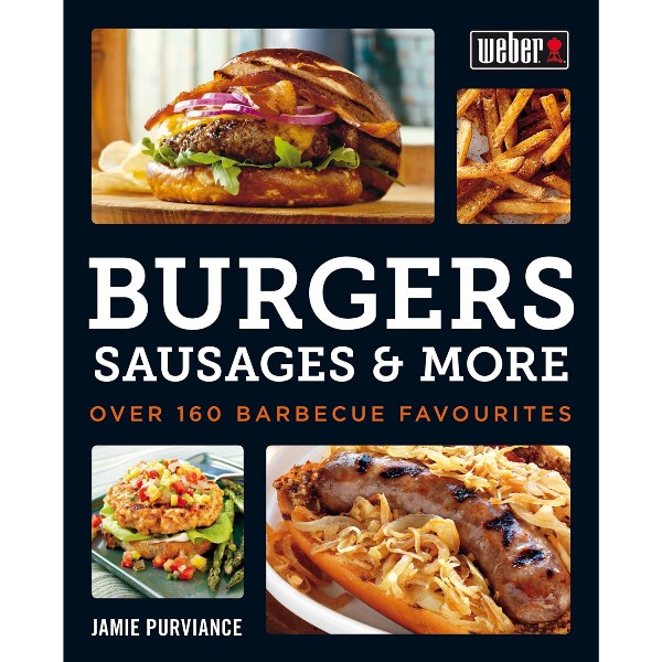 Weber Recipes Book for Burgers, Sausages and More