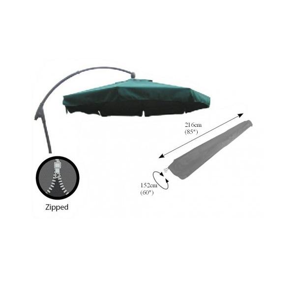 Bosmere Cover Pendulum Parasol (216cm) - Grey