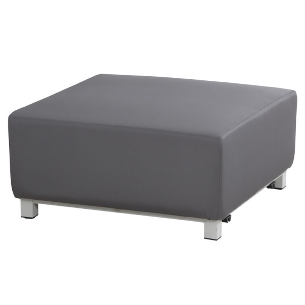 4 Seasons Chivas Coffee Table / Footstool - Silvertex