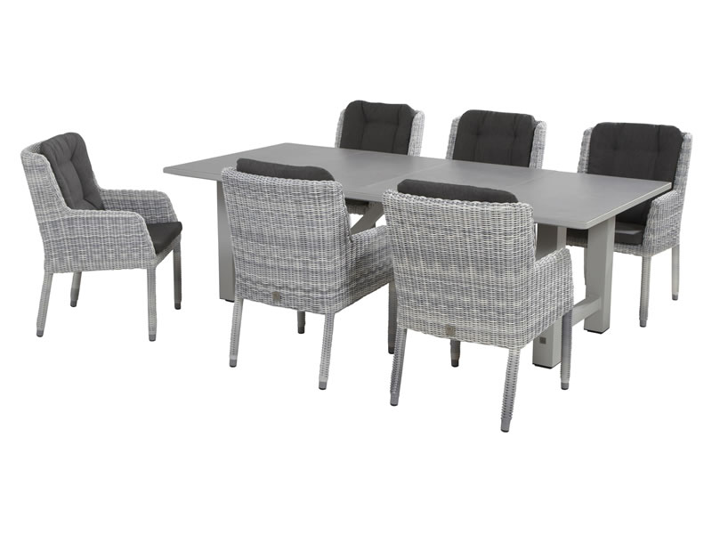 4 Seasons Diva Mesa 240x110 - Ceramic  Antracite