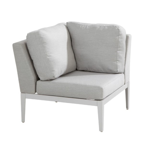 4 Seasons Almeria Modular Corner - Frost Grey