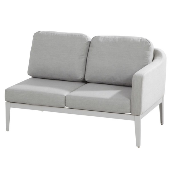 4 Seasons Almeria Modular 2 Seater Sofa Left Arm - Frost Gre