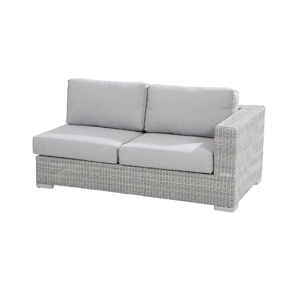 4 Seasons Lucca Modular 2 seaters Left Arm - Polyloom Ice