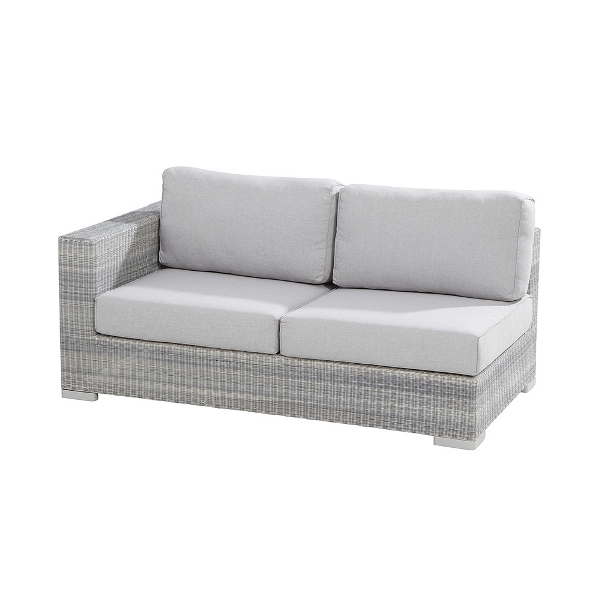 4 Seasons Lucca Modular 2 seaters Right Arm - Polyloom Ice