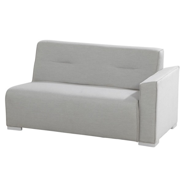 4 Seasons Tavira Modular Sofa 2 seater Left Arm - Smoke Grey