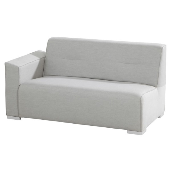 4 Seasons Tavira Modular Sofa 2 seater Right Arm - Smoke Gre