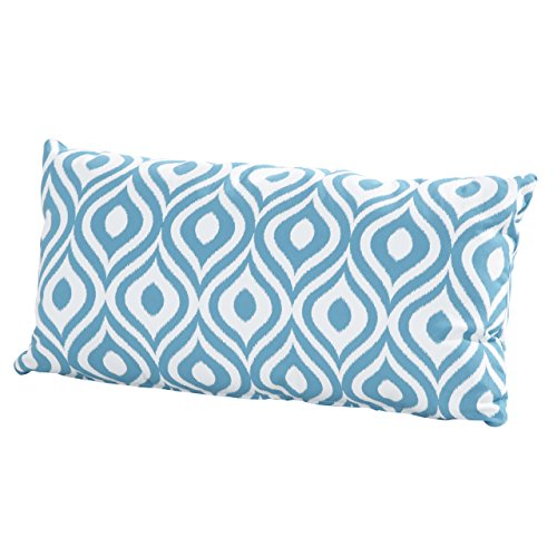 4 Seasons Pillow W/ Zipper 30x60 Pinamar Aqua