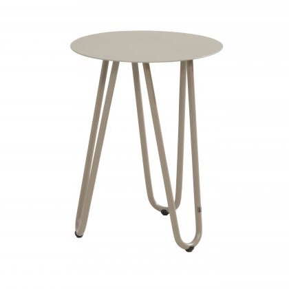 4 Seasons Cool Side Table W/Handle 42Ø x 55H - Taupe