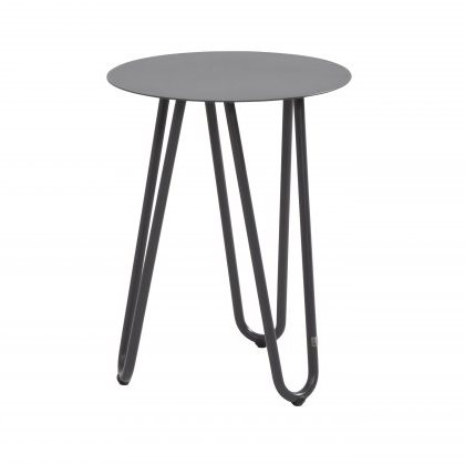 4 Seasons Cool Side Table W/Handle 42Ø x 55H - Antracite