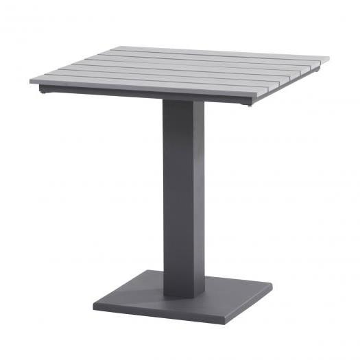 Taste Titan Table 70x70 Polywood - Slate Grey