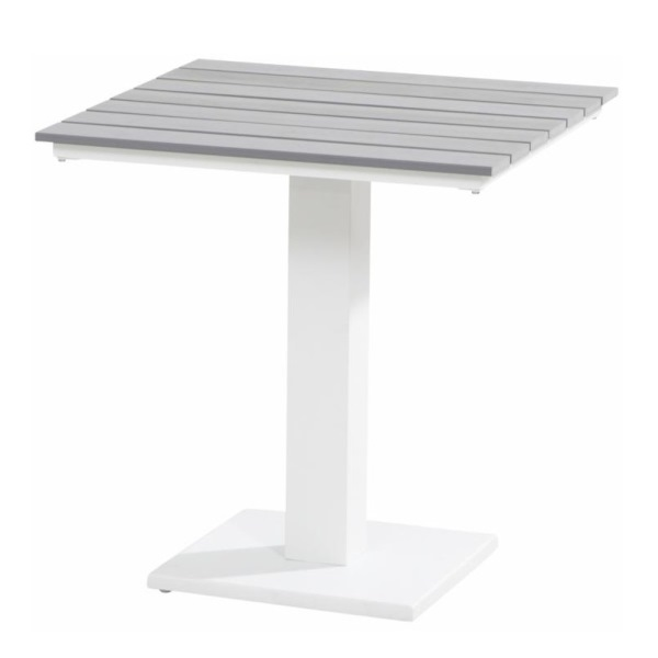 Taste Titan Table 70x70 Polywood - White