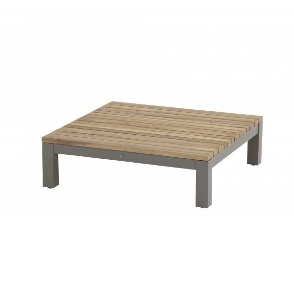 4 Seasons Fidji Modular Corner/Coffee Table - Aluminium/Teak