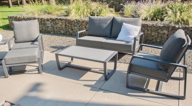 Taste Mauritius Lounge Set - Slate Grey