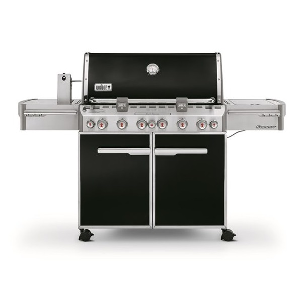 Weber Gás BBQ Summit S670 6 Burners GBS - Black