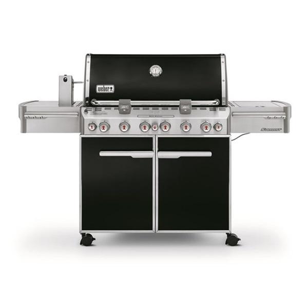 Weber BBQ Summit E-670 6 queimadores GBS - Preto