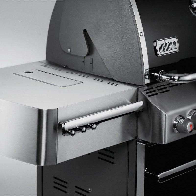 Weber Gás BBQ Summit S670 6 Burners GBS - Black