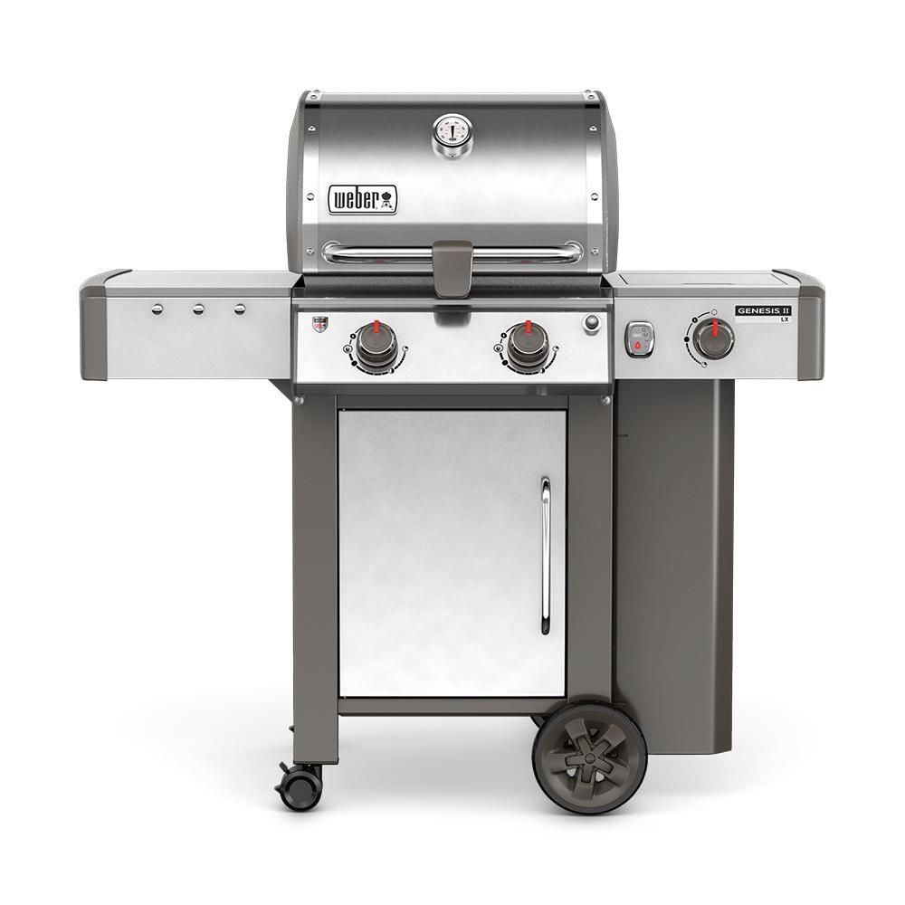 Weber Gas BBQ Genesis II  LX S-240 GBS - Inox