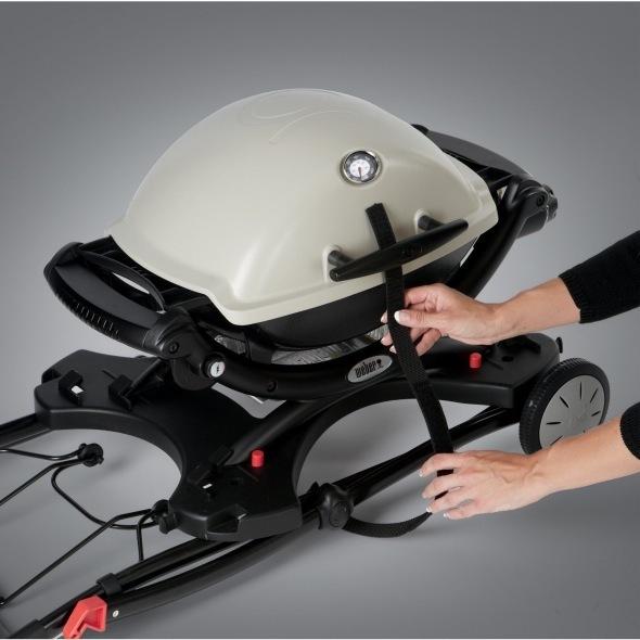 Weber Electric BBQ Q 2400 W/ Folding Troley