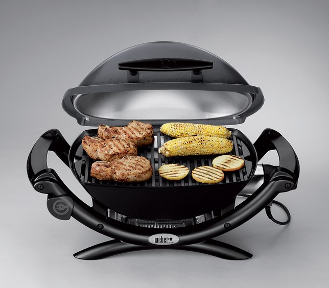 Weber Electric BBQ Q 2400 W/ Deluxe Troley