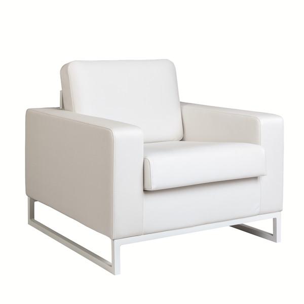 C4D Shape Individual Sofa - Silver Titan