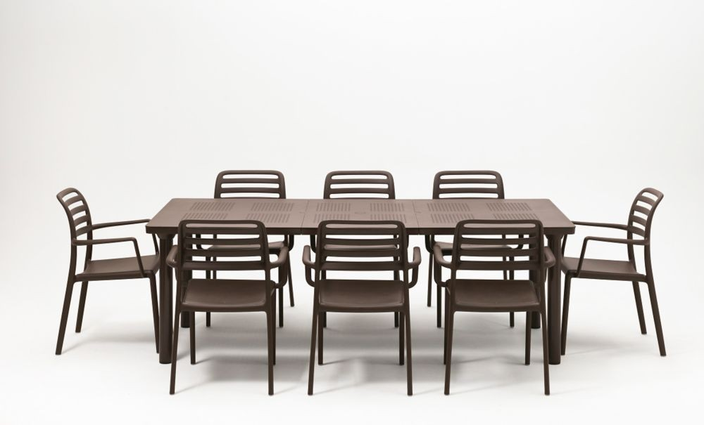 Jofix Libeccio Table Ext. 160-220x100 Cafe